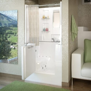 Walk In Tubs   Shop The Best Deals for Sep 2017   Overstock com. Walk In Tub With Shower Enclosure. Home Design Ideas