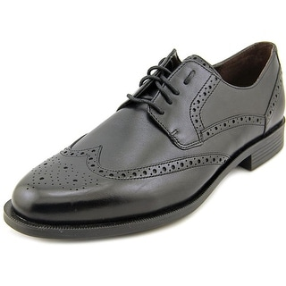 Cole Haan Collen.Wingtip.II Men Round Toe Leather Black Oxford