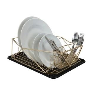 """Link to Kitchen Details Geode Dish Rack in Satin Gold - 18.6""""x 13.6""""x 5.3"""" Similar Items in Kitchen Storage"""