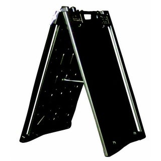 Aarco Universal Sidewalk A-Frame Sign & Poster Holder, Black