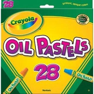 28/Pkg - Crayola Oil Pastels