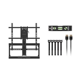Monoprice Above Fireplace Full-Motion TV Wall Mount - VESA Up to 600x500