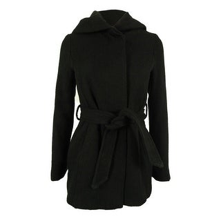 Coffeeshop Women's Belted Hooded Coat
