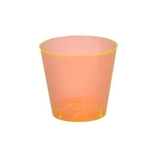 Fineline Settings 402-ORG Orange 2 Oz. Shot Glass