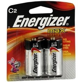 Energizer MAX Alkaline Batteries C 2 Each