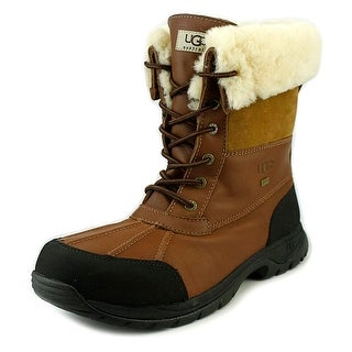 Ugg Australia Butte Men Round Toe Leather Snow Boot