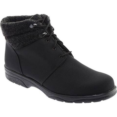Toe Warmers Women's Trek Waterproof Ankle Boot Black/Black