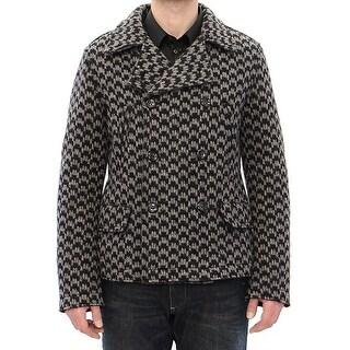 Dolce & Gabbana Dolce & Gabbana Gray Double Breasted Jacket - it50-l