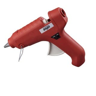 School Smart Full Size Dual Temperature Glue Gun, 40 W, 7/16 Inch Glue Sticks, Red|https://ak1.ostkcdn.com/images/products/is/images/direct/ce7e47a6521f296995d08c982086868bd774fcab/School-Smart-Full-Size-Dual-Temperature-Glue-Gun%2C-40-W%2C-7-16-Inch-Glue-Sticks%2C-Red.jpg?impolicy=medium