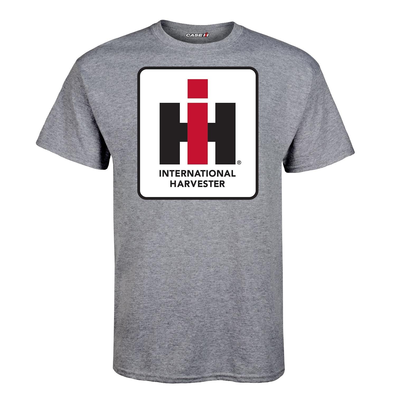 International Harvester Logo >> International Harvester Logo Adult Adult Short Sleeve Tee