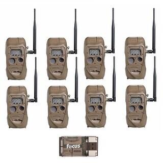 Cuddeback CuddeLink J Series Long Range IR Trail Camera (8-Pack) with USB Reader