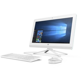 HP 20-c023w Dreamy Teal All-in-One PC (Certified Refurbished)