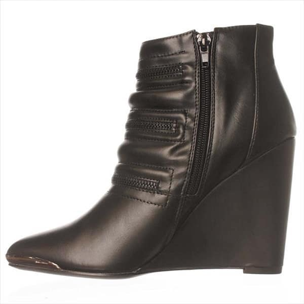 Just Fab Womens Percey Pointed Toe Ankle Fashion Boots