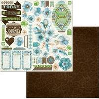 """- Penelope Double-Sided Cardstock 12""""X12"""""""