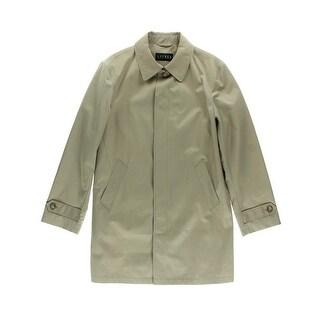 Lauren Ralph Lauren Mens Stanza Raincoat Water Resistant Lined