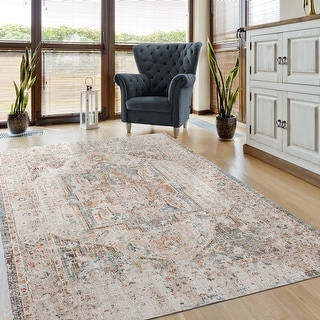 Copper Grove Luganville Distressed Turkish Area Rug