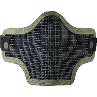 Valken 2G Wire Mesh Tactical Mask Green Skull