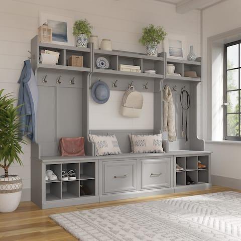 Woodland Entryway Storage Set by kathy ireland® Home/Bush Furniture