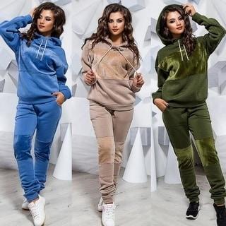 Link to 2Pcs Womens Tracksuit Hoodies Sweatshirt Top Pants Sets Sport Wear Casual Suit(Sweatshirt+Pant ) Similar Items in Women's Outerwear