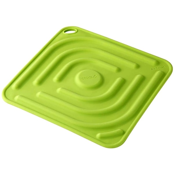 Air Trivet - Silicone trivet and pot holder in Green. Opens flyout.