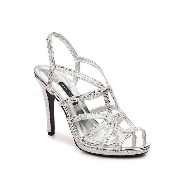 Caparros NEW Silver Women's Shoes Size 10M Susannah Strappy Sandal