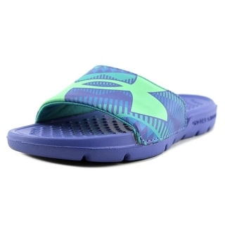 Under Armour Strike Geo  Youth  Open Toe Synthetic Pink Slides Sandal