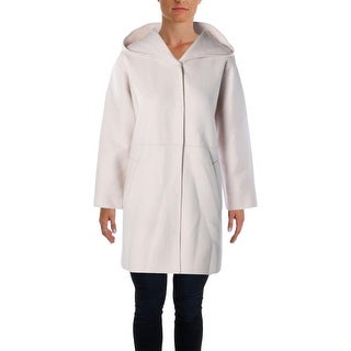 MaxMara Womens Basic Coat Solid Wool - 8