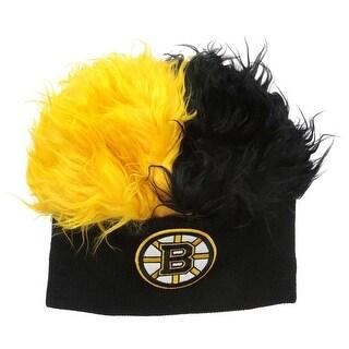 The Northwest NHL Boston Bruins Flair Hair Beanie Hat