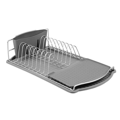 Michael Graves Design Steel Wire Compact Dish Rack