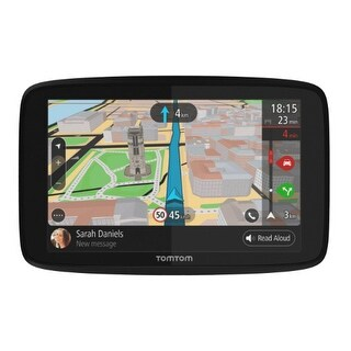 TomTom GO 620 6-inch Automotive GPS w/ Wi-Fi, Lifetime World Maps & Traffic