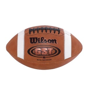 Wilson GST Youth Leather Football