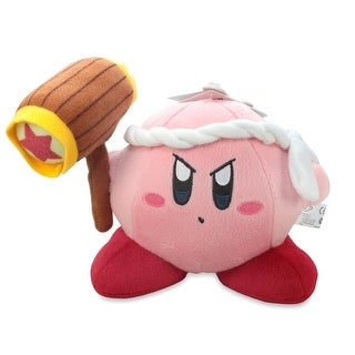 "Kirby Nintendo 6"" Plush Hammer - multi"