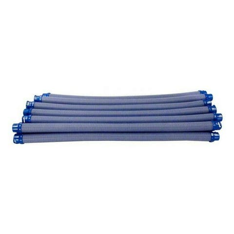 """Set of 12 Blue and Gray Zodiac Twist-Lock Hose Cleaner, 14"""""""