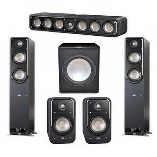 Polk Audio Signature 5.1 System with 2 S50 Speakers, 1 Polk S35, 2 Polk S20 Speakers, 1 Premier Acoustic PA-150Sub