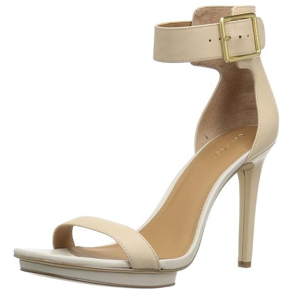 Calvin Klein Women's Vable Platform Dress Sandal