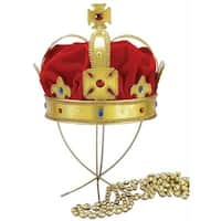 Morris Costumes FM59048 Regal King Crown Adult