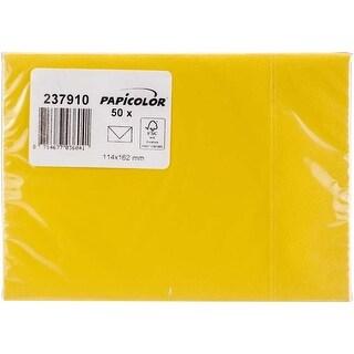 Buttercup Yellow - Papicolor A6 Envelopes 50/Pkg