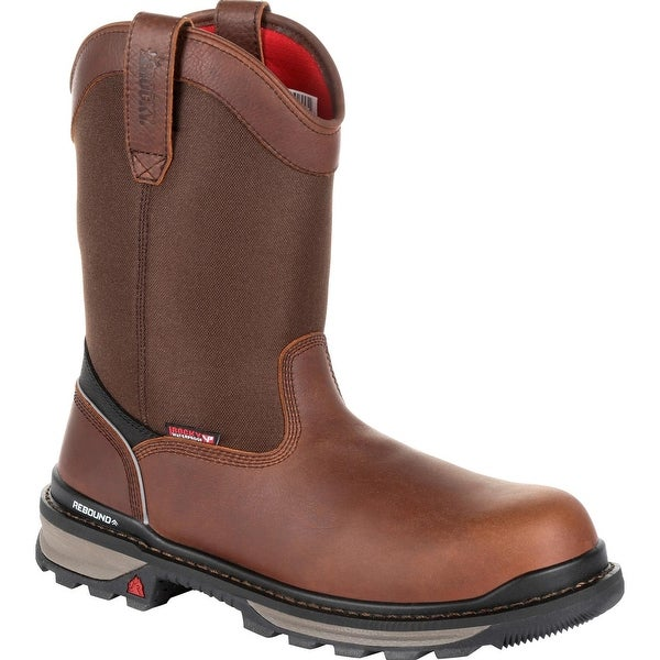 c6874e0d6bc Shop Rocky Rams Horn: Waterproof Composite Toe Pull-On Work Boot ...