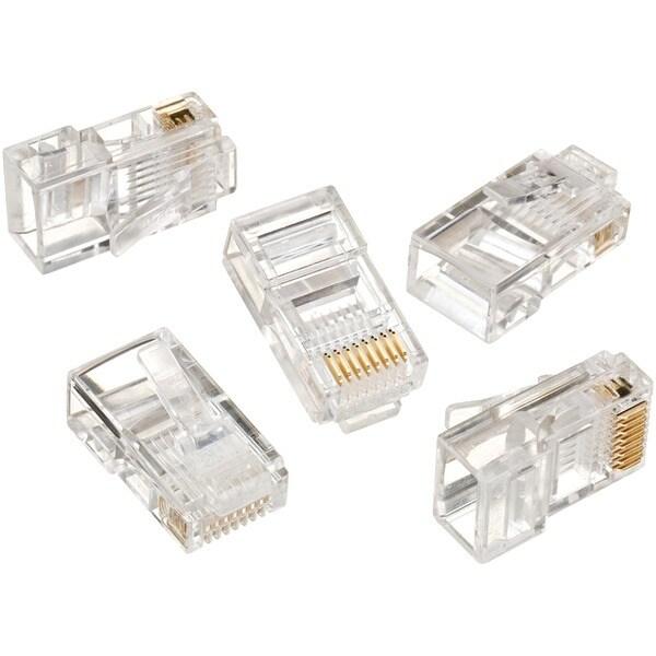 Ideal 85-396 Rj45 8P8C Mod Plug (Card Of 50)