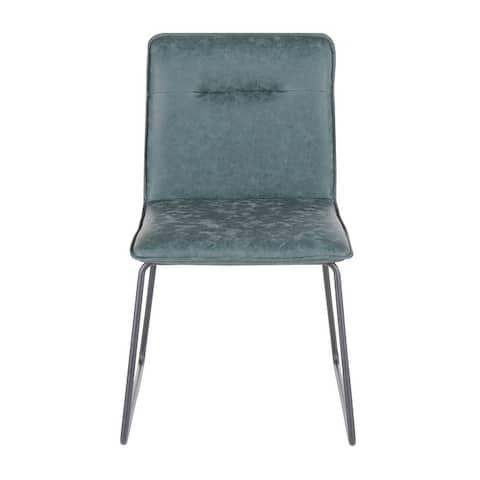 Carbon Loft Lyonne Industrial Dining Chair (Set of 2)