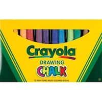 Crayola Drawing Chalk-12/Pkg