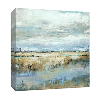 """PTM Images 9-147662  PTM Canvas Collection 12"""" x 12"""" - """"Coastal Marsh"""" Giclee Beaches Art Print on Canvas"""