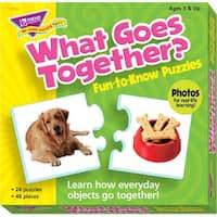 Trend Enterprises What Goes Together Puzzle Set