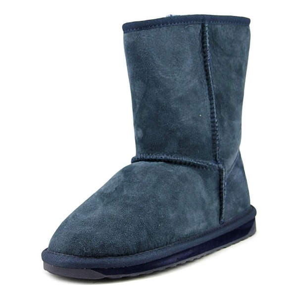 Emu Australia Stinger Lo Women Round Toe Suede Winter Boot