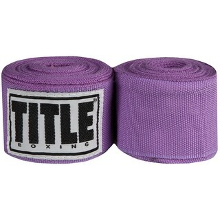 "Title Boxing 180"" Semi Elastic Mexican Handwraps- Light Purple"