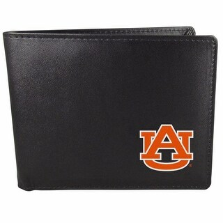 Auburn Tigers Bi-fold Wallet Black ID Window Bifold
