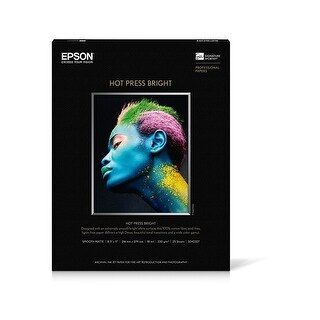 EPSS042327 - Epson Hot Press Bright Fine Art Paper - White