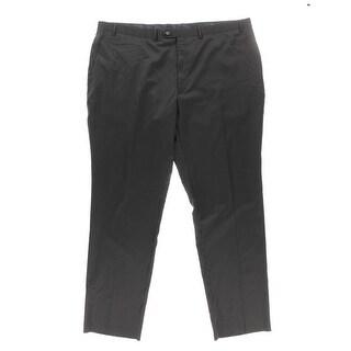 Shaquille O'Neal Mens Wool Pinstripe Dress Pants - 48