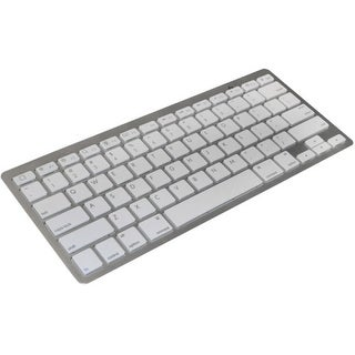 Premiertek BK-01S Premiertek Wireless Bluetooth V3.0 Slim Keyboard for PC/MAC/iOS/Android - Wireless Connectivity - Bluetooth -