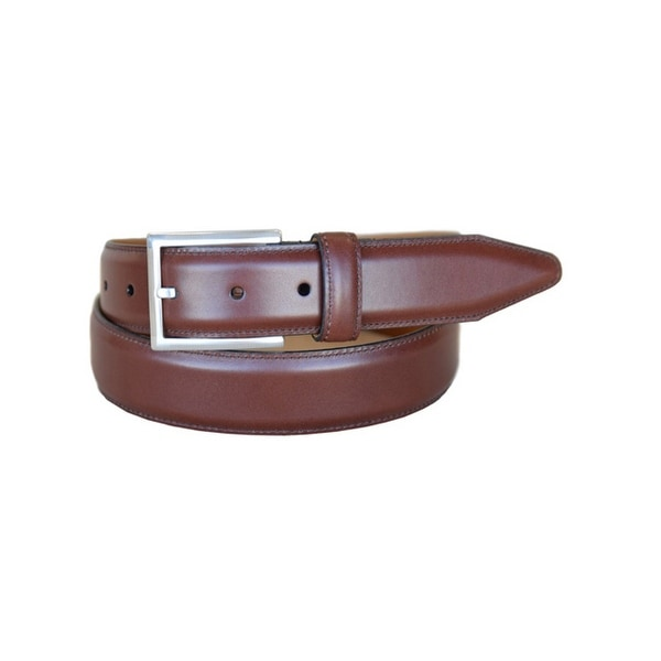 Lejon Western Belt Mens Executive Steerhide Chili